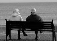 Bench.couple